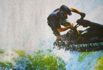 jet ski custom full color screen printing by impressionz printing