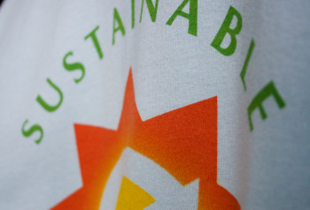 eco friendly custom t-shirt for Sustainable by Impressionz Printing