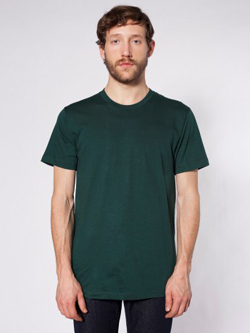 Mens Custom Fashion Fit Shirts American Apparel Fitted Tee