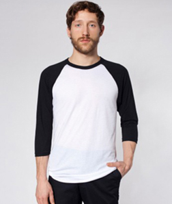 American Apparel – BB453 – White/Black