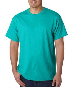 Mens Black Silk T Shirt