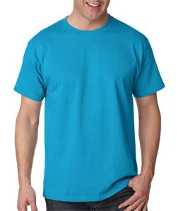 Mens Custom Short Sleeve Shirts Hanes Soft Tagless 5250