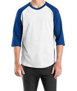 Sport-Tek – T200 – White/Royal