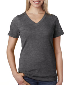 Black V Neck T Shirts Women