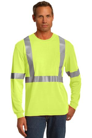 CornerStone® - CS401LS - Safety Yellow/Reflective