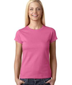 Womens Custom Fitted Shirts Gildan Junior Fit Tee 64000L