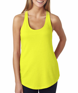 Womens Custom Tank Tops Next Level Terry Tank Top 6933