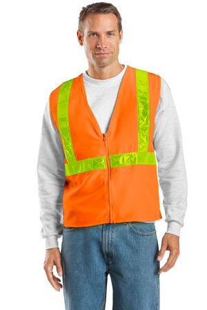 Port Authority® – SV01 – Safety Orange/Reflective