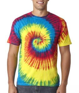 Tie Dye – H1000 – Reactive Rainbow Spiral