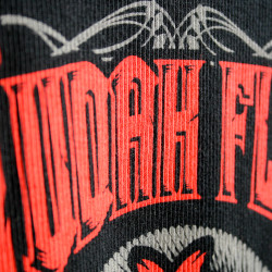 Judah Flo | Custom Water Based Discharge Lettering | Impressionz Printing