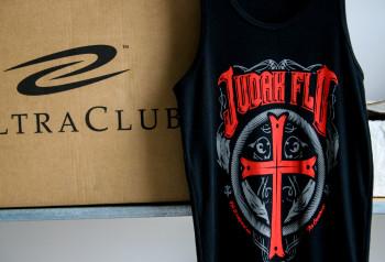 Judah Flo | Water Based Discharge T-Shirt Logo | Impressionz Printing