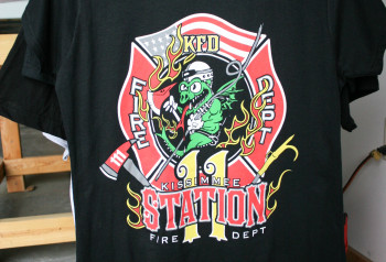 Kissimmee Fire Station |Premium Screen Printing | Impressionz Printing