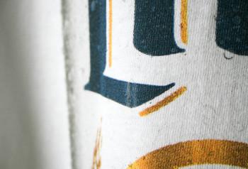 Miller Light detailed logo on custom t-shirt by Impressionz Printing