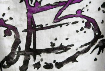 SESH | Detailed Logo of Custom Water Discharge T-Shirt | Impressionz Printing
