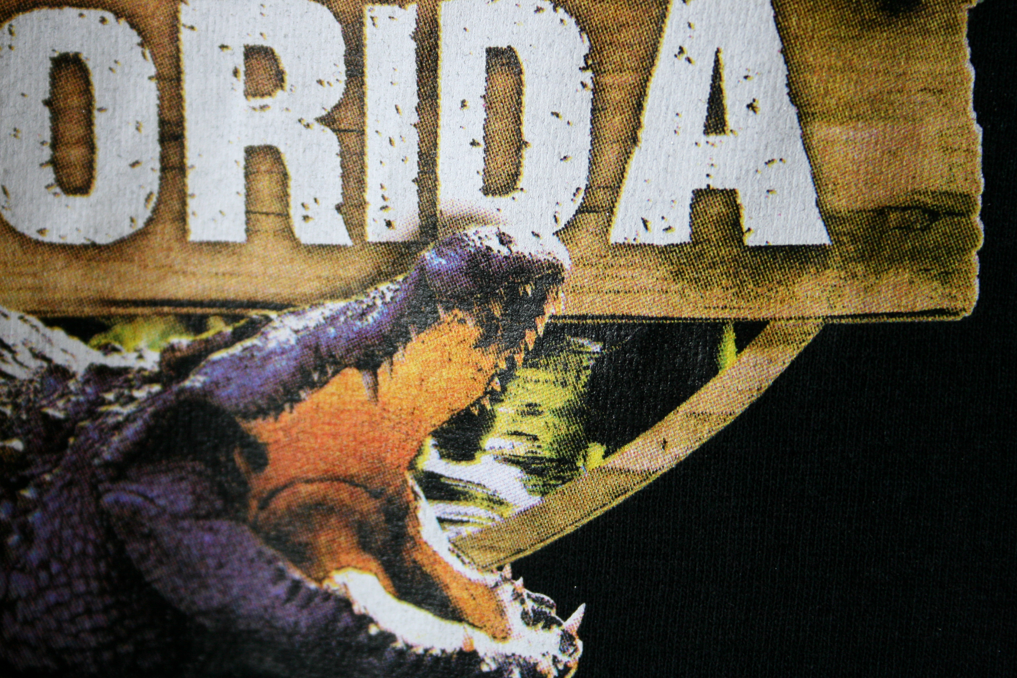 wild florida alligator full color screen printing by impressionz printing