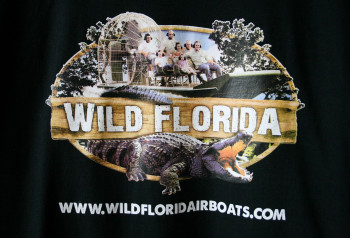 complete logo wild florida boats on full color t-shirt printing by impressionz printing