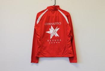 gymnastics nevada custom track jacket by impressionz printing
