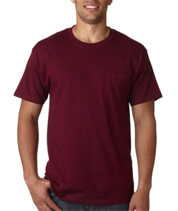 3103db27 Mens Custom Short Sleeve Shirts | Hanes Tagless Pocket Shirt 5590