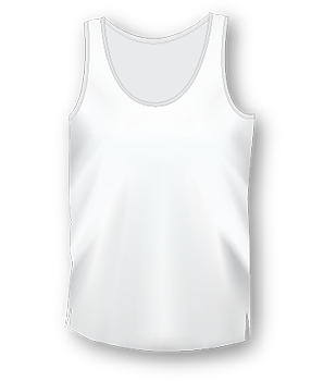 Mens Long White T Shirt