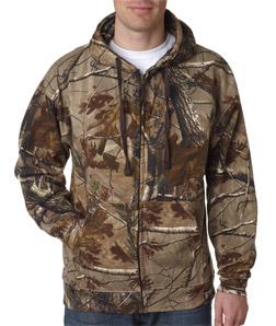 e3f971c2 Mens Custom Camo Shirts | RealTree Long Sleeve Zip Hoody 3989