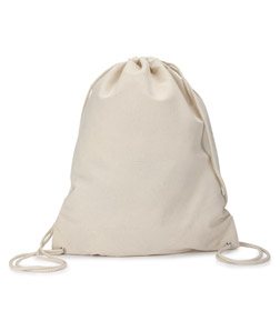 Gildan Natural DrawString Bag